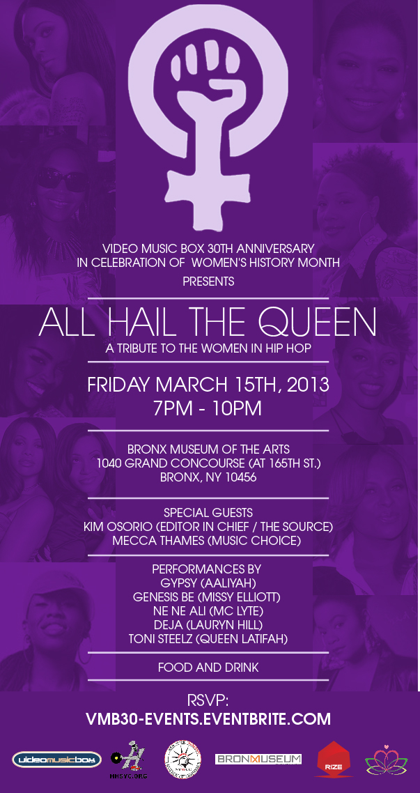 Video Music Box Presents... ALL HAIL THE QUEEN
